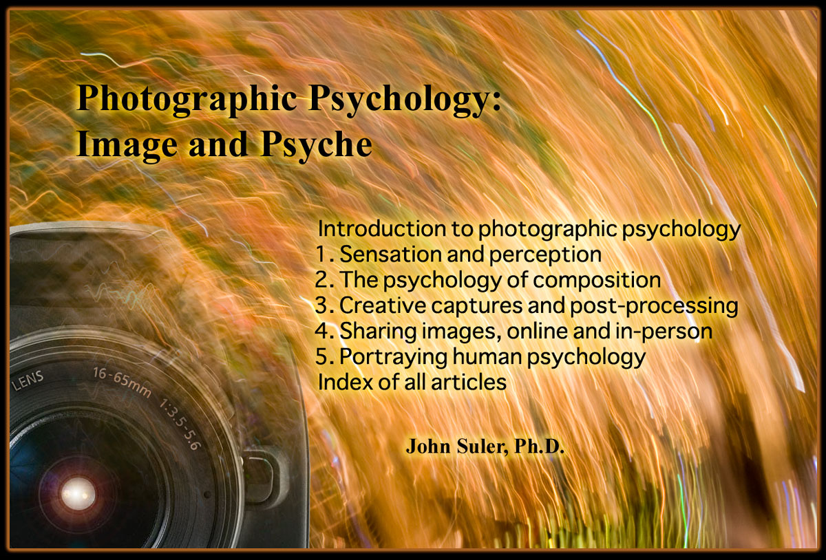 Photographic Psychology: Image and Psyche